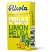 Ricola Lemon und Melissa Pearls ohne Zucker