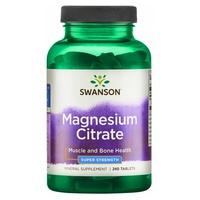 Citrato de magnesio, 225 mg