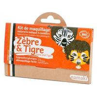 Kit Maquillaje Infantil Cebra y Tigre Bio