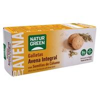 Biscuit complet à l'avoine avec millet, noisettes et noix de coco biologique