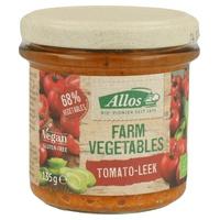 Crema Untable de Tomate y Puerro Bio