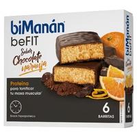 Barrita de Chocolate y Naranja (Método Pro)