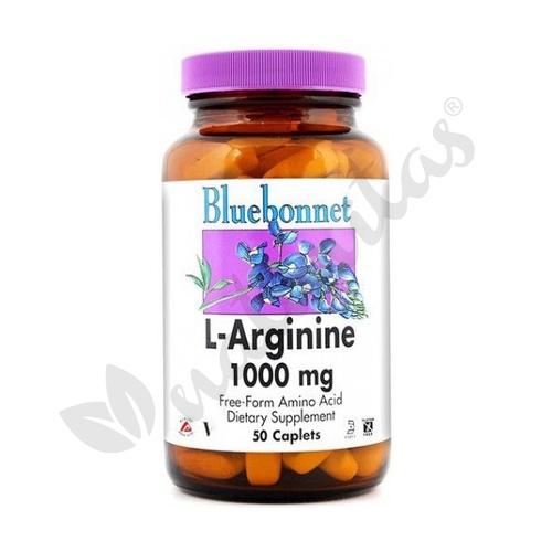L-Arginina 50 comprimidos de 1000 mg de Bluebonnet