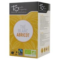 The Blanc à l`Abricot Arômes Bio