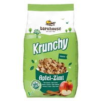 Krunchy Muesli with Apple and Cinnamon