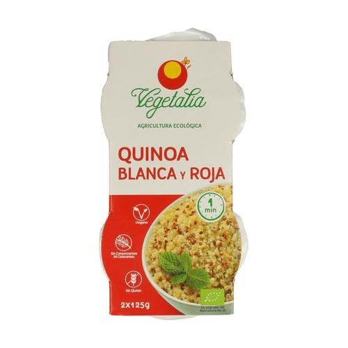 Vasito de Quinoa Blanca y Roja Bio