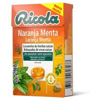 Ricola Naranaja and Mint Sugar Free Candies