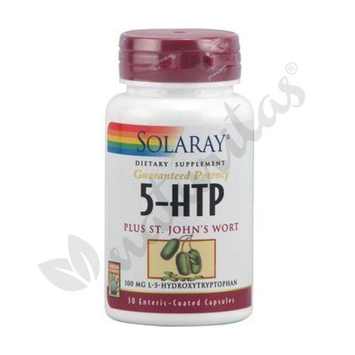 5Htp con St. John'S Wort 30 cápsulas de Solaray - Kal