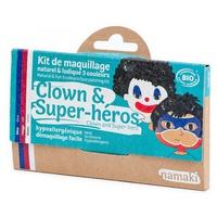 Kit Maquillaje Infantil Payaso y Superheroe Bio