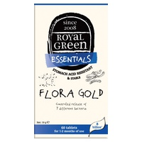 Flora Gold 8.000 millones 60 Comprimidos de Royal Green