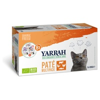 Multi Pack bio de 8 barquettes pour chat