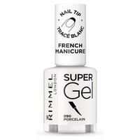 French manicure super gel nail polish # 090-porcelain
