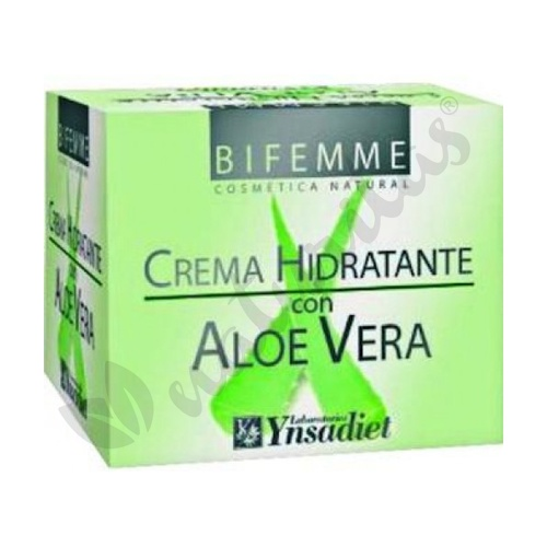 Crema Hidratante con Aloe Vera Bifemme 50 ml de Ynsadiet