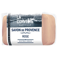 Pastilla de jabón de Provenza de rosa