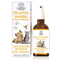 Instant comfort room spray for animals