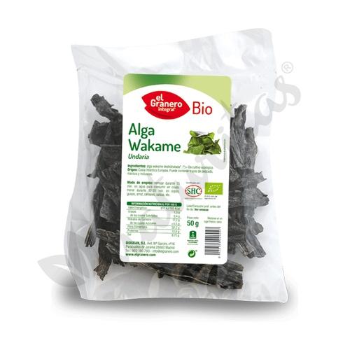 Alga Wakame 50 gr de El Granero Integral