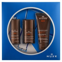 Nuxe Men Moisturizing Gel Box + Deodorant + Shower Gel