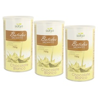 Pack 3x Batido Saciante (Chocolate blanco)
