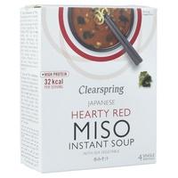 Sopa de Miso Picante con Algas