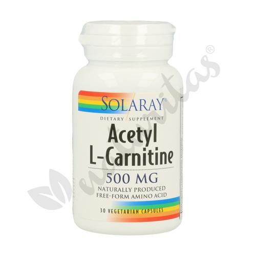 Acetil L-Carnitina 30 cápsulas de Solaray - Kal