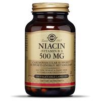 Niacina (vitamina B3) 500 mg vegetal