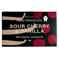 Tableta de Chocolate con Cerezas y Vainilla