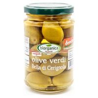 """Whole green olives """"bella di cerignola"""" in brine"""