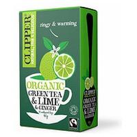 Te Verde con Lima y Jengibre Bio