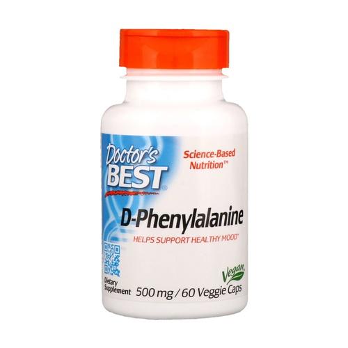 D-fenilalanina, 500 mg