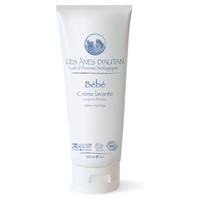 Organic baby body and hair washing cream