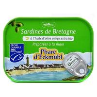 Brittany sardines in olive oil