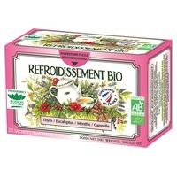 Organiczna chłodząca herbata ziołowa