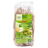 Pasta Tagliatelle de Espelta con Albahaca Bio