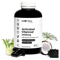 Activated charcoal 2400 mg