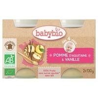 Petits Pots Pomme D'Aquitaine (Ex: Vanille) Bio (dès 4 mois)