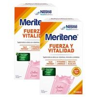 Pack Meritene Batido fresa (25%DTO Segunda unidad)