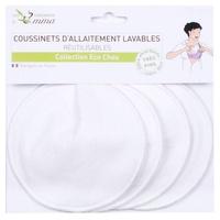 4 almohadillas de lactancia lavables
