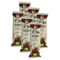 Pack Barrita de Coco con Chocolate Negro Bio