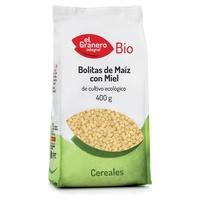 Bolitas de Maiz con Miel BIO