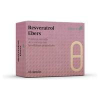 Resveratrol Ebers Caja de 45 capsulas de Ebers