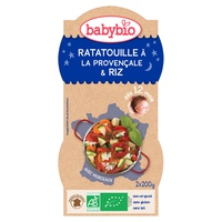 Bonne Nuit Ratatouille à la Provençale Riz de Camargue