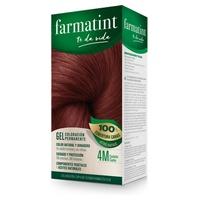 Farmatint Gel 4M Castaño Caoba