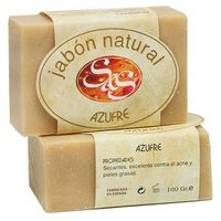 Naturalne mydło siarkowe
