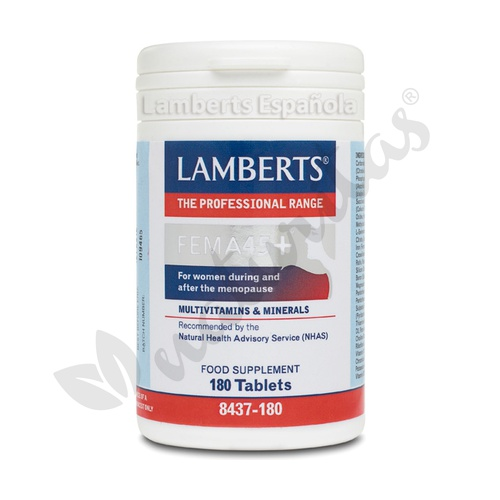 Fema 45+ 180 cápsulas de Lamberts