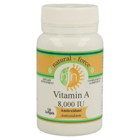 Vitamina a 10000Iu 100 perlas de Nutri-Force