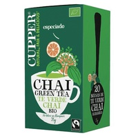 Chai Green Tea Bio