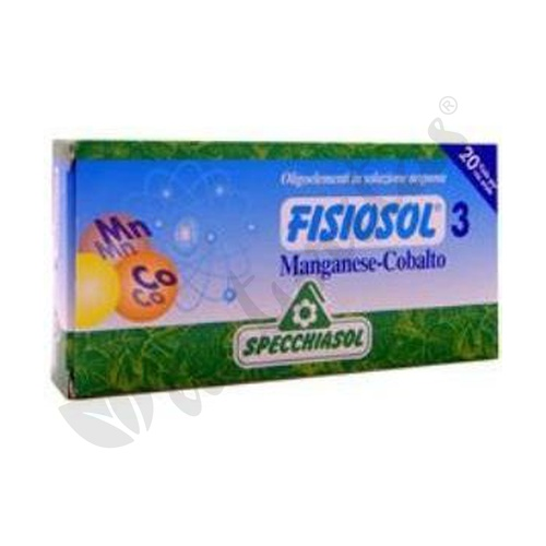 Fisiosol 3 Manganeso-Cobalto
