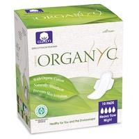 Kompresy nocne ze skrzydłami (Ind Bag) 100% bawełna organiczna