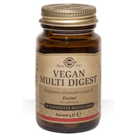 Vegan multi digest masticable