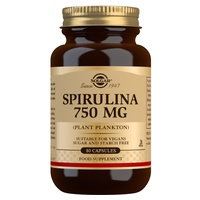 Espirulina 750 mg (plâncton)